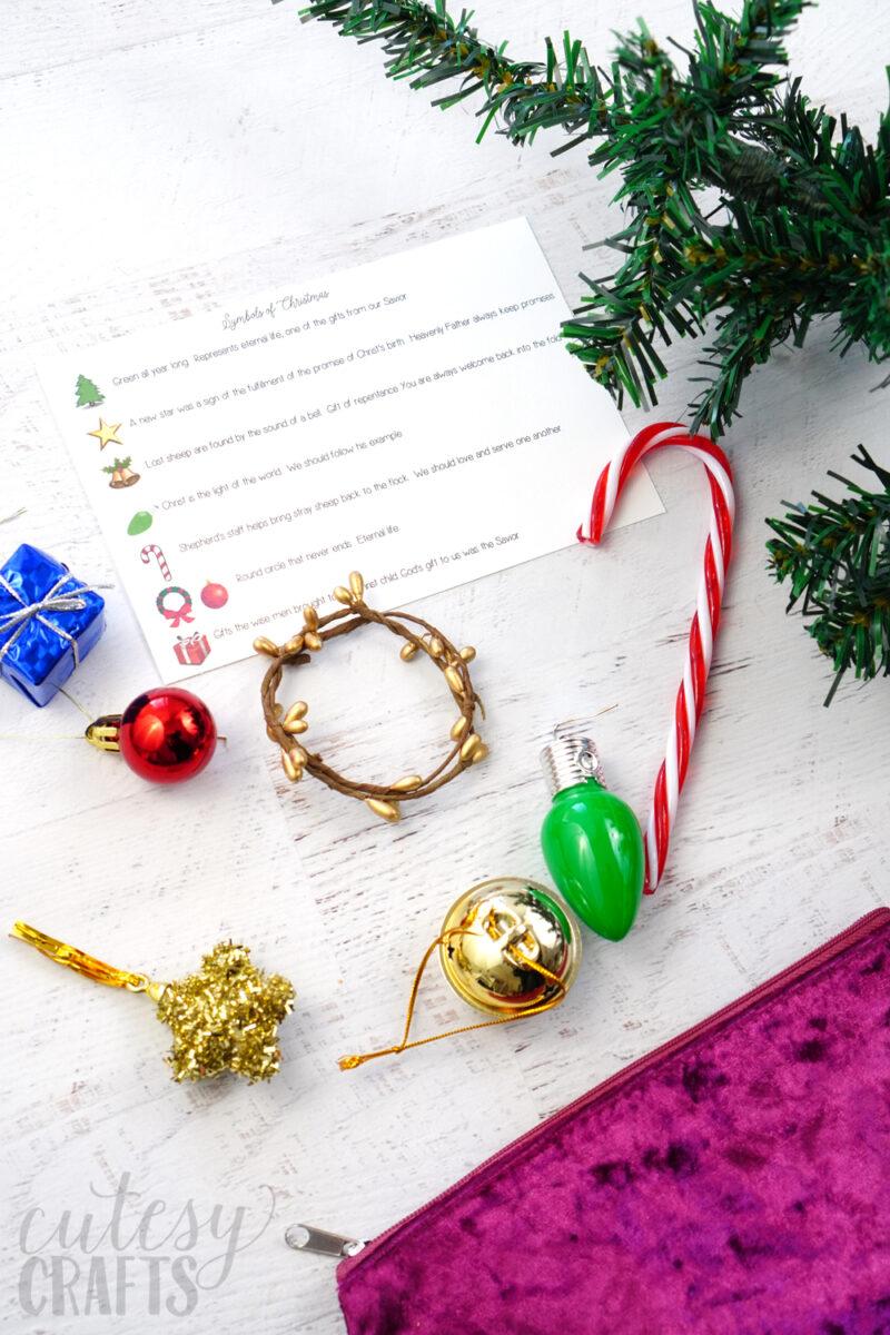 Symbols of Christmas Primary Activity