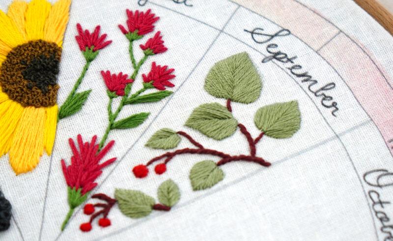 Manzanita Embroidery