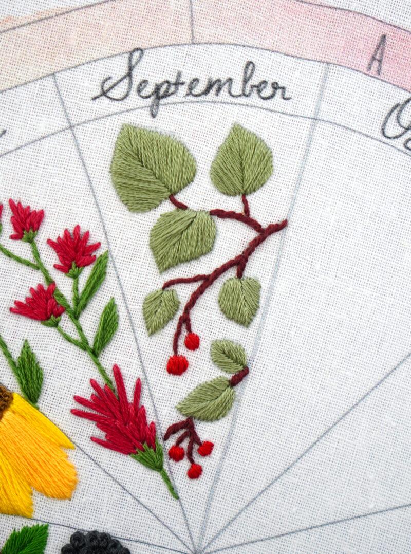 Manzanita Embroidery Pattern